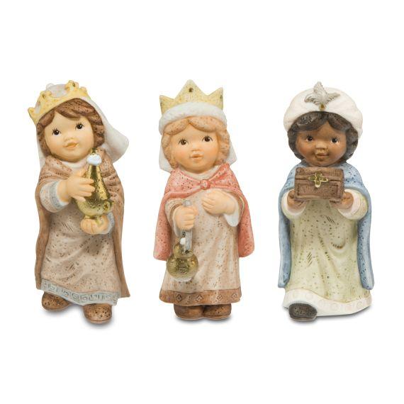 Produktbild von Figuren-Set Heilige Drei Könige - Nina & Marco Krippe