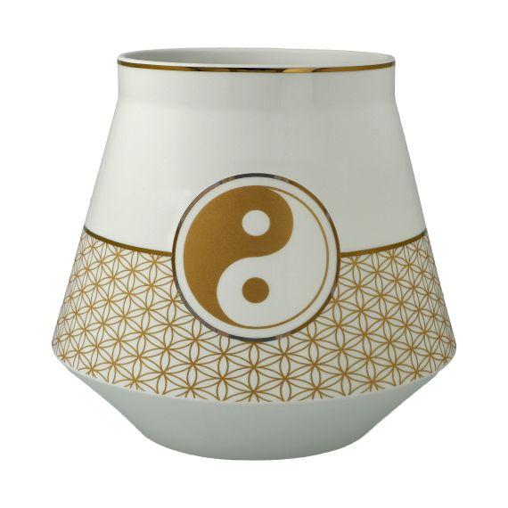 Produktbild von Yin Yang Weiß - Tischlampe 17,5 cm Lotus Yin Yang