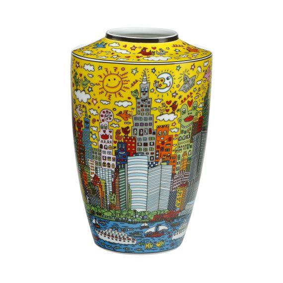 Produktbild von My New York City Sunset - Vase Pop Art James Rizzi