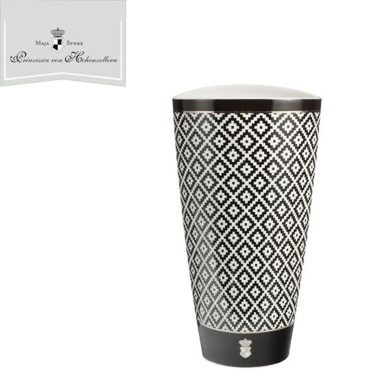 Produktbild von Diamonds - Vase Château Schwarz-Weiß