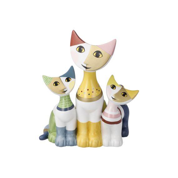 Produktbild von Katzenfigur Famiglia felice Rosina Wachtmeister