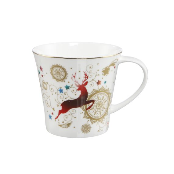 Produktbild von Coffee-/Tea Mug - Mandala Weihnachten