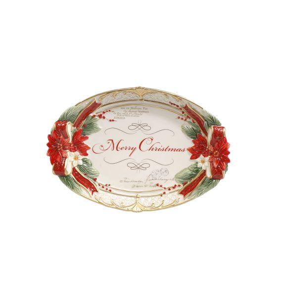 Produktbild von Schale - Weihnachtsstern 28 x 19 cm Fitz & Floyd XMAS