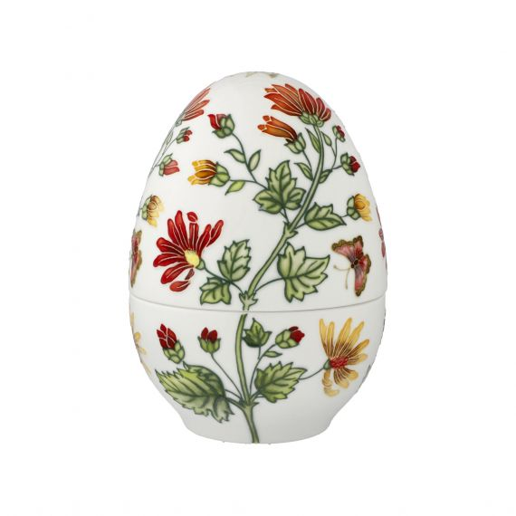 Produktbild von Farbenfrohe Pflanzenwelt - Ei-Dose 18,5 cm Fitz & Floyd Spring-Collection