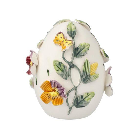 Produktbild von Bunte Stiefmütterchen - Ei-Dose 8,5 cm Fitz & Floyd Spring-Collection