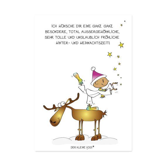 Produktbild von Postkarte - Ich wünsche Dir eine ganz... Der kleine Yogi