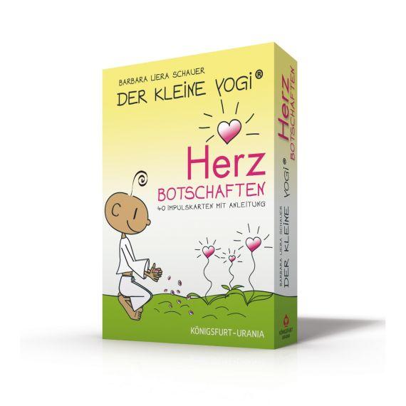 Produktbild von Herzbotschaften Der kleine Yogi Buch und Spiel