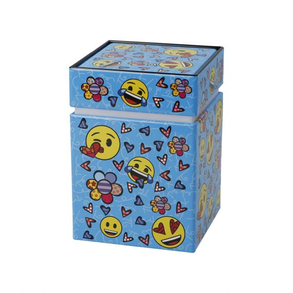 Produktbild von Always Happy - Künstlerdose Pop Art Romero Britto Emojis