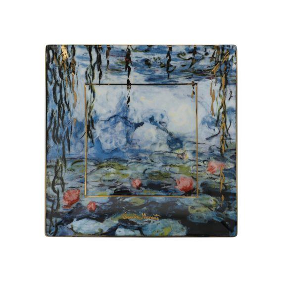 Produktbild von Seerosen mit Weide - Schale Artis Orbis Claude Monet