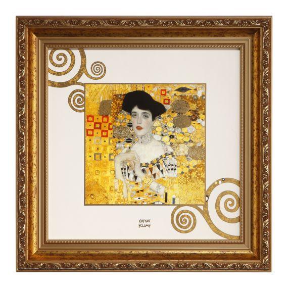 Produktbild von Wandbild/-teller Adele Artis Orbis Gustav Klimt