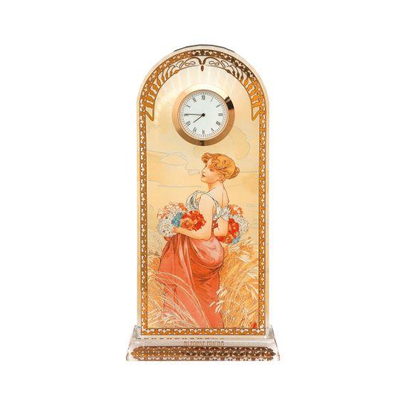 Produktbild von Sommer - Tischuhr Artis Orbis Alphonse Mucha
