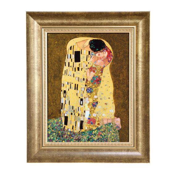 Produktbild von Der Kuss - Wandbild 34 cm Artis Orbis Gustav Klimt