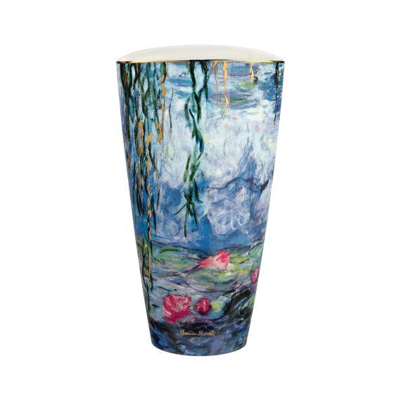 Produktbild von Seerosen mit Weide - Vase 28 cm Artis Orbis Claude Monet
