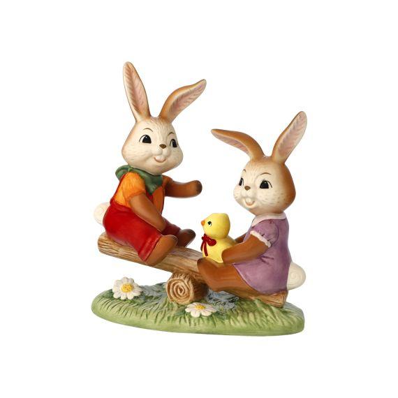 Produktbild von Hasenfigur Das macht Spaß! - Frühlings-Edition 2021 16 cm Ostern