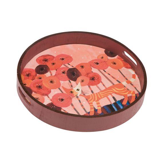 Produktbild von Fiori rossi - Tablett 36 cm Rosina Wachtmeister Wohnaccessoires