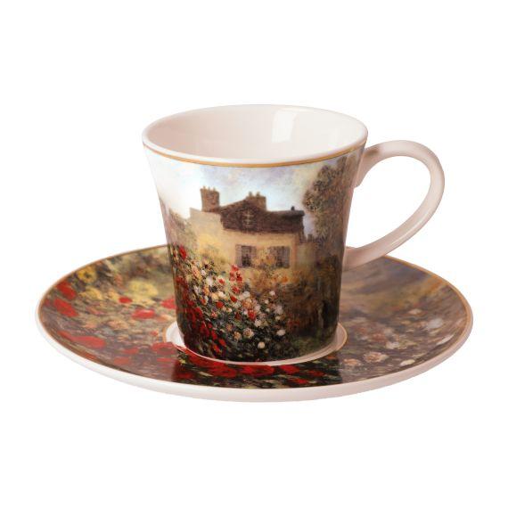 Produktbild von Das Künstlerhaus - Kaffeetasse 8,5 cm Artis Orbis Claude Monet