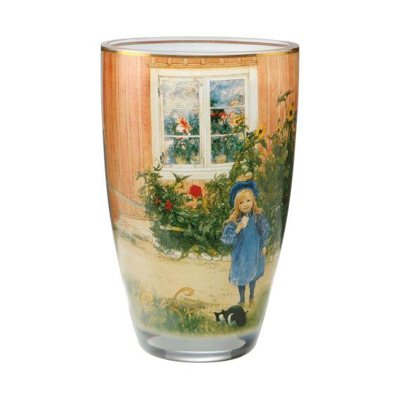 Produktbild von Britta mit Katze - Vase 19 cm Artis Orbis Carl Larsson