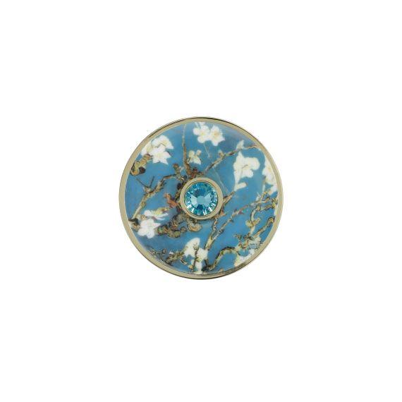 Produktbild von Mandelbaum Blau - Brosche Artis Orbis Vincent Van Gogh