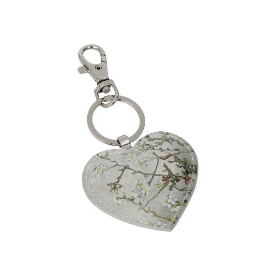 Produktbild von Mandelbaum Silber - Schlüsselanhänger 6x8,5 Artis Orbis Vincent Van Gogh