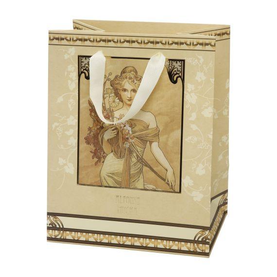 Produktbild von Geschenktüte Frühling 21x27 cm Artis Orbis Alphonse Mucha