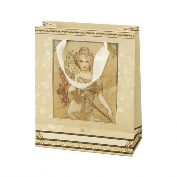 Produktbild von Geschenktüte Frühling 15,5x19 cm Artis Orbis Alphonse Mucha