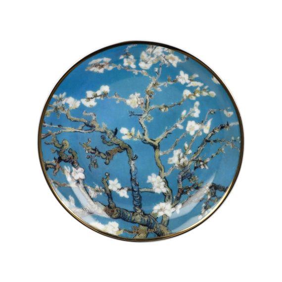 Produktbild von Teller Mandelbaum blau 10 cm Artis Orbis Vincent van Gogh