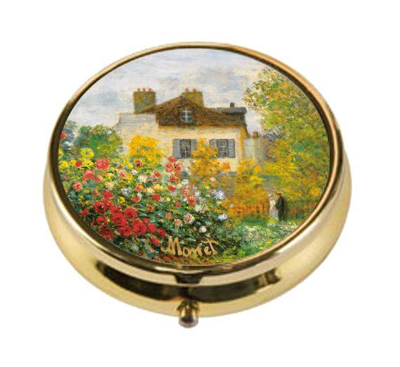 Produktbild von Pillendose – Künstlerhaus Claude Monet