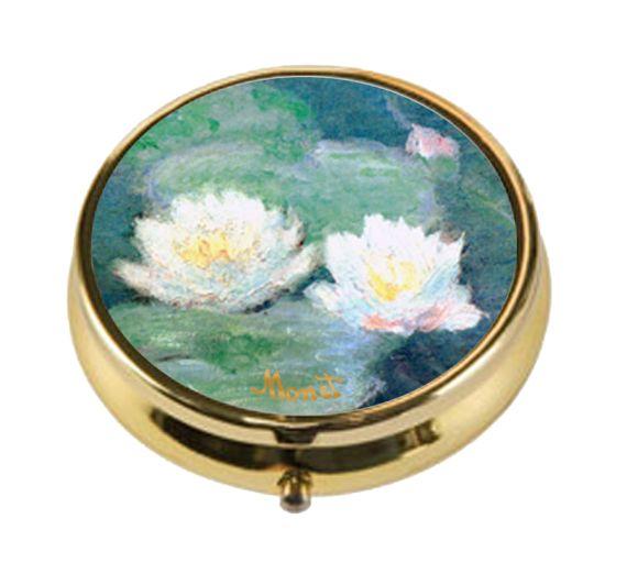 Produktbild von Pillendose – Seerosen Claude Monet