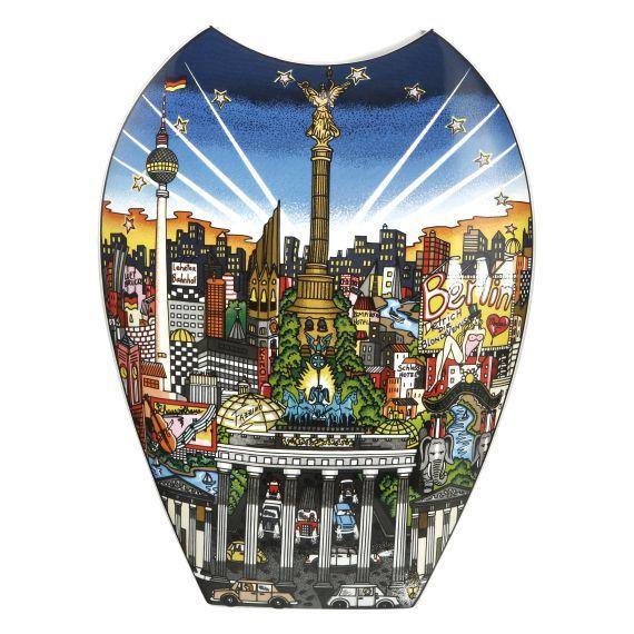 Produktbild von Vase 47 cm – Ballon Ride over New Your / My Berlin... Pop Art Charles Fazzino