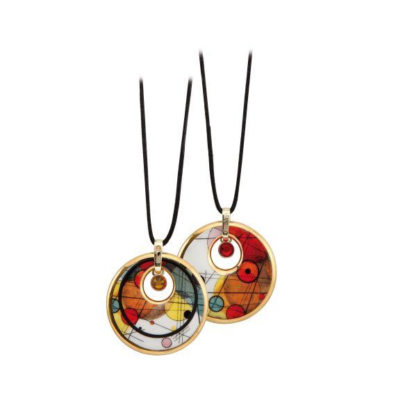 Produktbild von Kreise im Kreis - Kette Artis Orbis Wassily Kandinsky