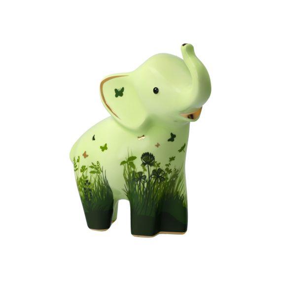 Produktbild von Figur Nabulu 15,5 cm grün Elephant