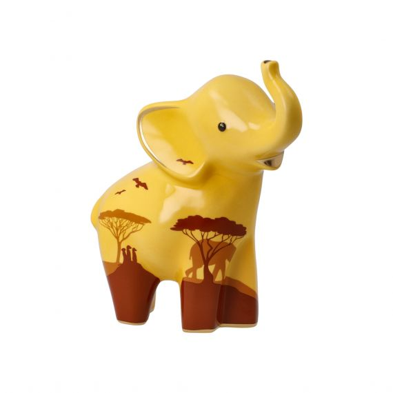 Produktbild von Figur Mukkoka 15,5 cm sand Elephant