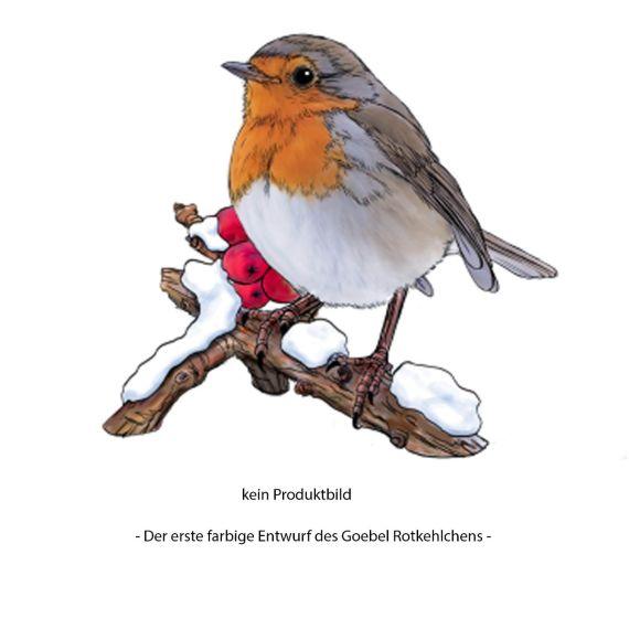 Produktbild von Vogel des Jahres 2021 Rotkehlchen klein