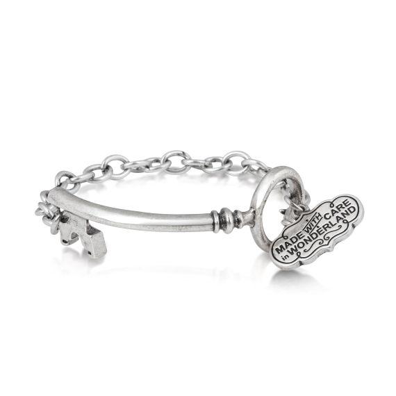 Produktbild von Disney Alice im Wunderland - Armband Weißgold Couture Kingdom Alice im Wunderland