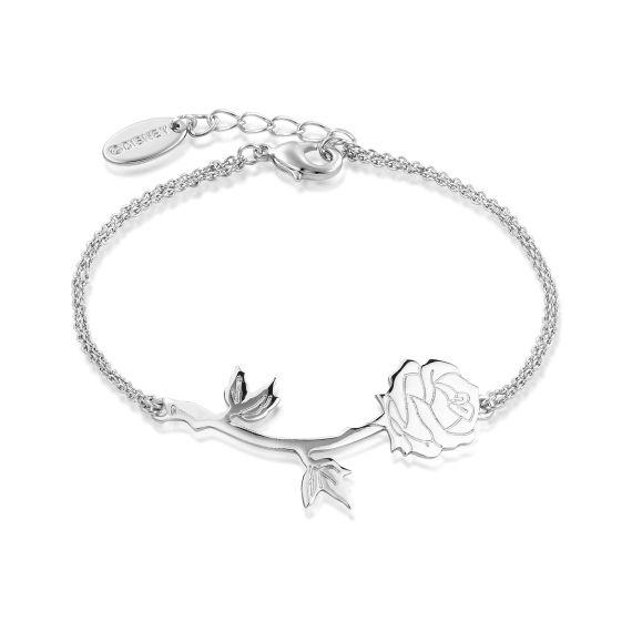 Produktbild von Disney Rose - Armband Weißgold Couture Kingdom Die Schöne und das Biest