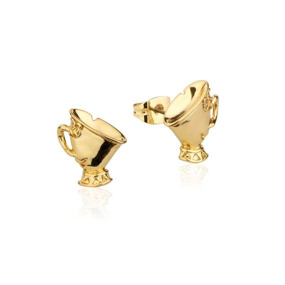 Produktbild von Disney Tassilo - Ohrstecker Gold Couture Kingdom Die Schöne und das Biest