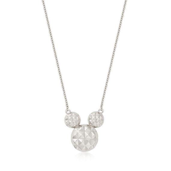 Produktbild von Disney Mickey Maus - Halskette Diamond Cut Sterling Silber Couture Kingdom
