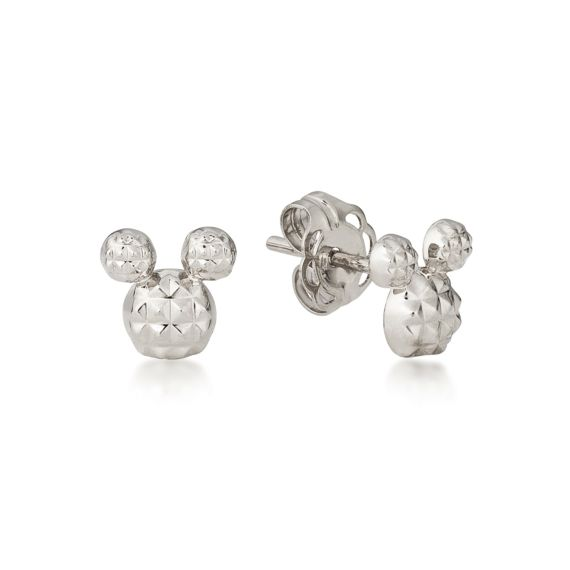 Produktbild von Disney Mickey Maus - Ohrstecker Diamond Cut Sterling Silber Couture Kingdom