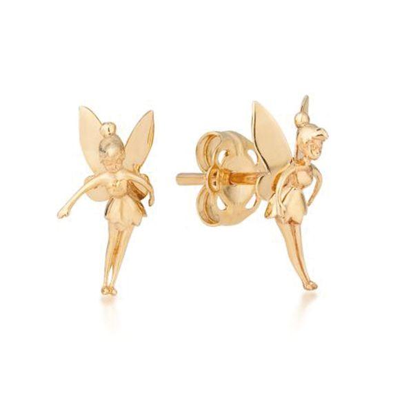 Produktbild von Disney Tinker Bell - Ohrstecker 9K Gold Couture Kingdom