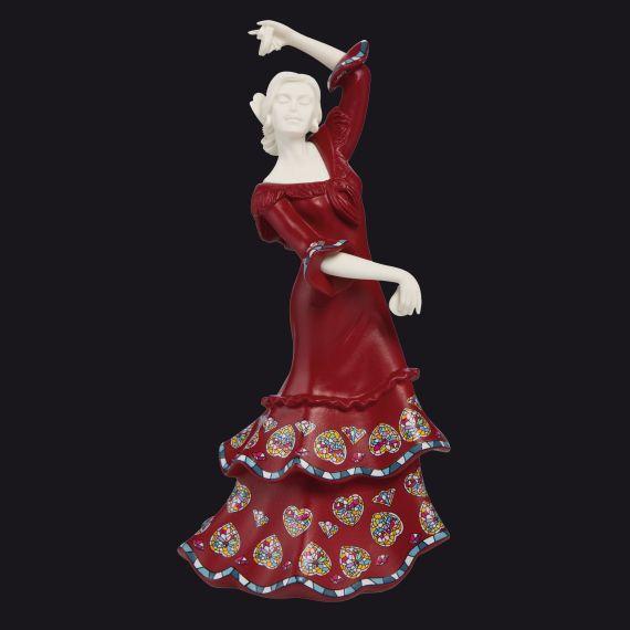Goebel Flamenco NADAL Sirenes Rot Polyresin