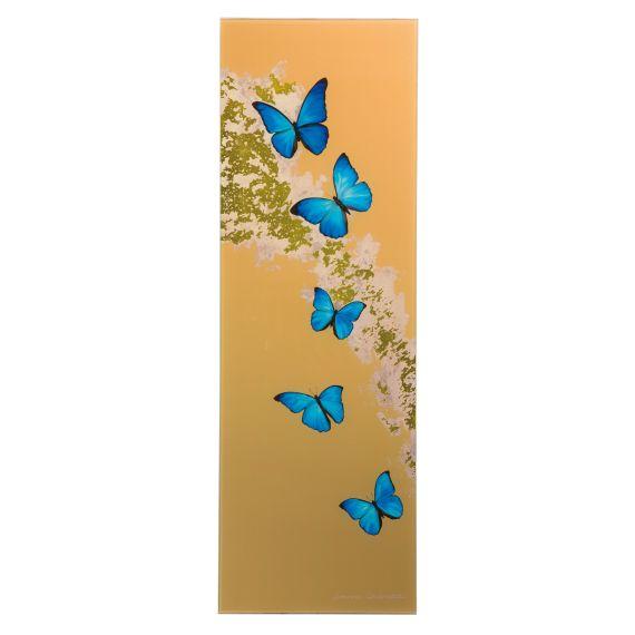Produktbild von Blue Butterflies - Magnettafel Artis Orbis Joanna Charlotte