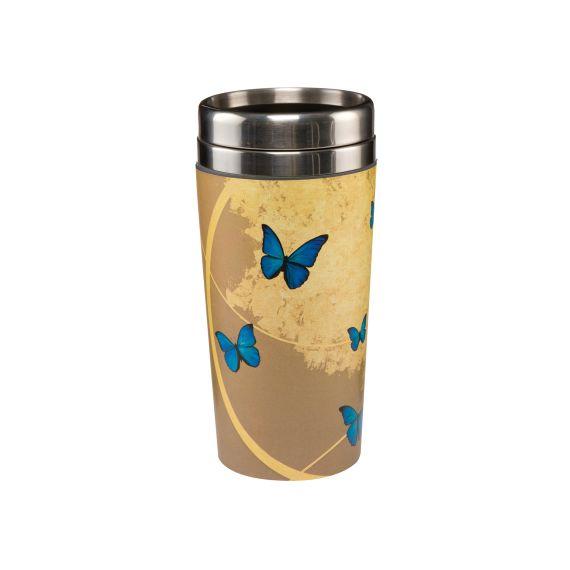 Produktbild von Blue Butterflies - Mug To Go Artis Orbis Joanna Charlotte