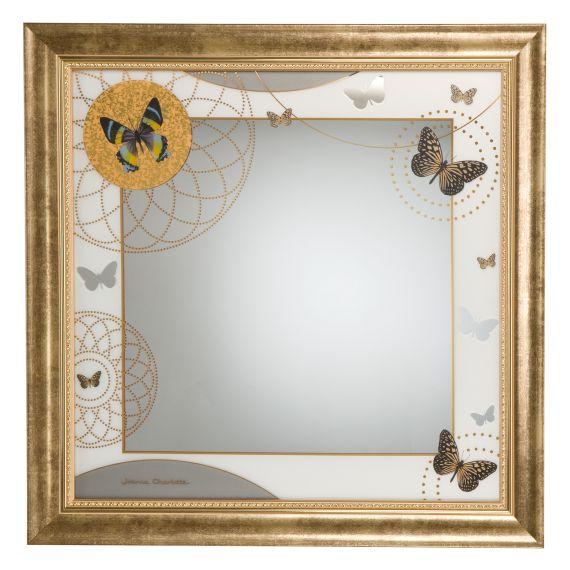 Produktbild von Butterflies – Spiegel 53 x 53 cm Artis Orbis Joanna Charlotte