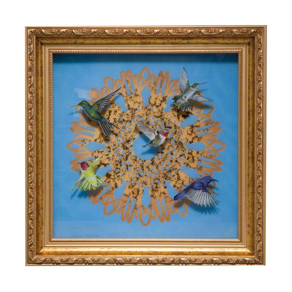 Produktbild von Spirograph - Wandbild limitiert 999 Stück Artis Orbis Joanna Charlotte