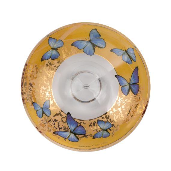 Produktbild von Blue Butterflies - Schale Artis Orbis Joanna Charlotte