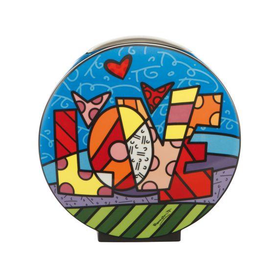Produktbild von Love - Vase Pop Art Romero Britto