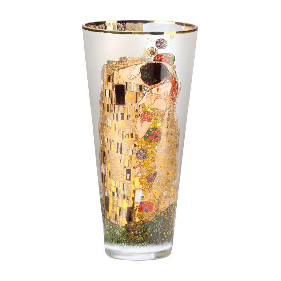 Produktbild von Der Kuss – Vase Glas 30 cm Artis Orbis Gustav Klimt