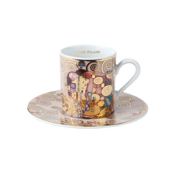 Produktbild von Die Erfüllung - Espressotasse zylindrisch Artis Orbis Gustav Klimt