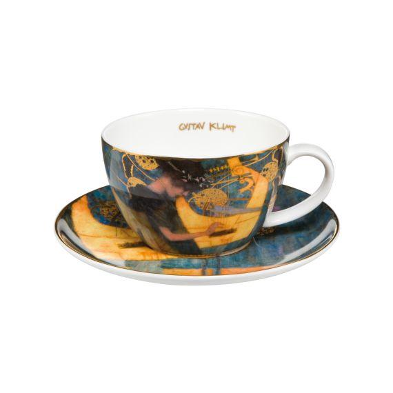 Produktbild von Die Musik - Teetasse mit Untere 6,5 cm 0,25 l Artis Orbis Gustav Klimt