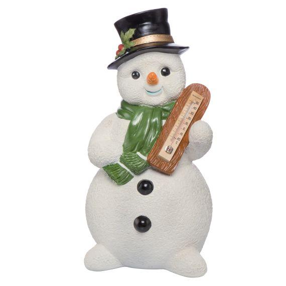 Produktbild von Frostiger Winter Schneemann mit Thermometer